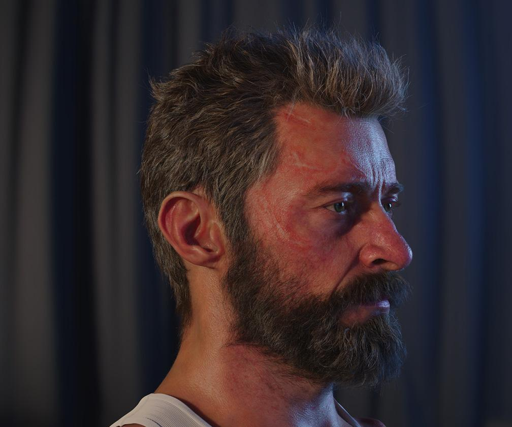 The secrets of creating real-looking CG digital doubles