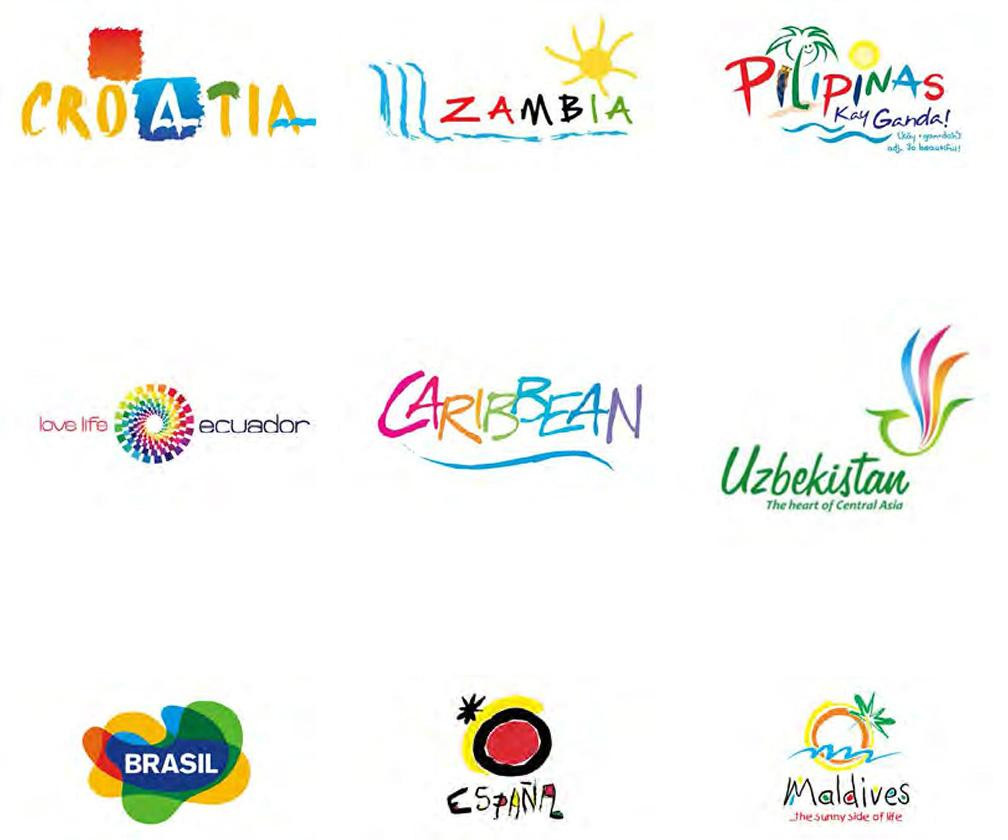 Countries need better logos and branding than these identikit designs