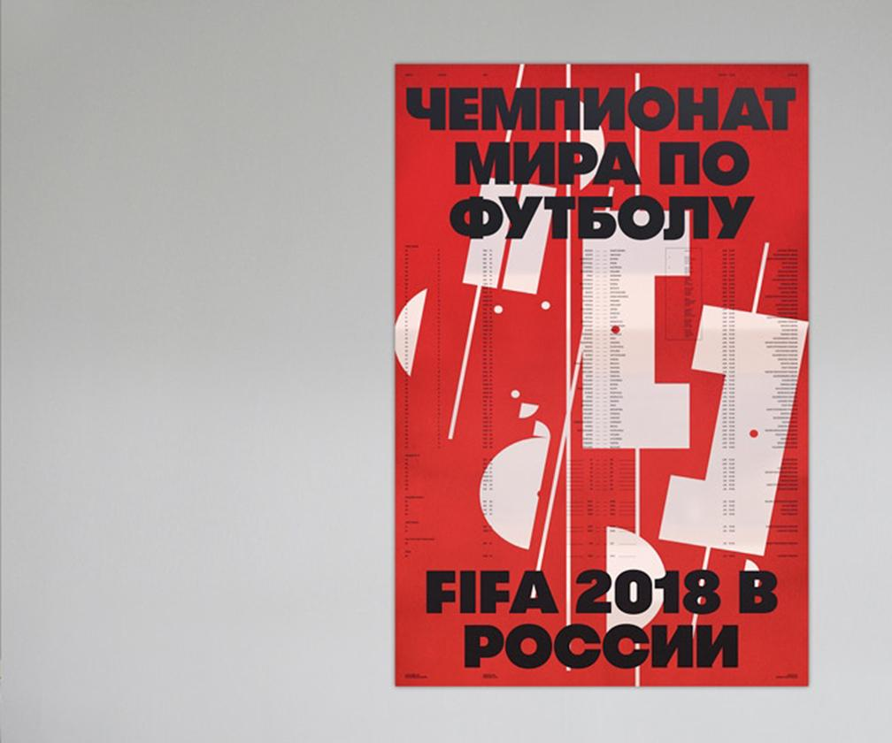 Soviet-era-inspired World Cup 2018 wallcharts you wouldn't be embarrassed to have on your wall