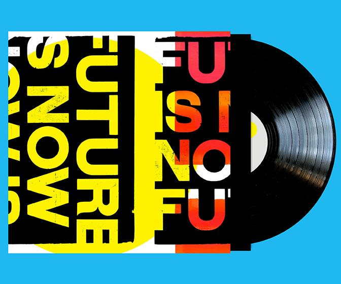 Anthony Burrill on combining art and music for his new The Future is Now acid house vinyl