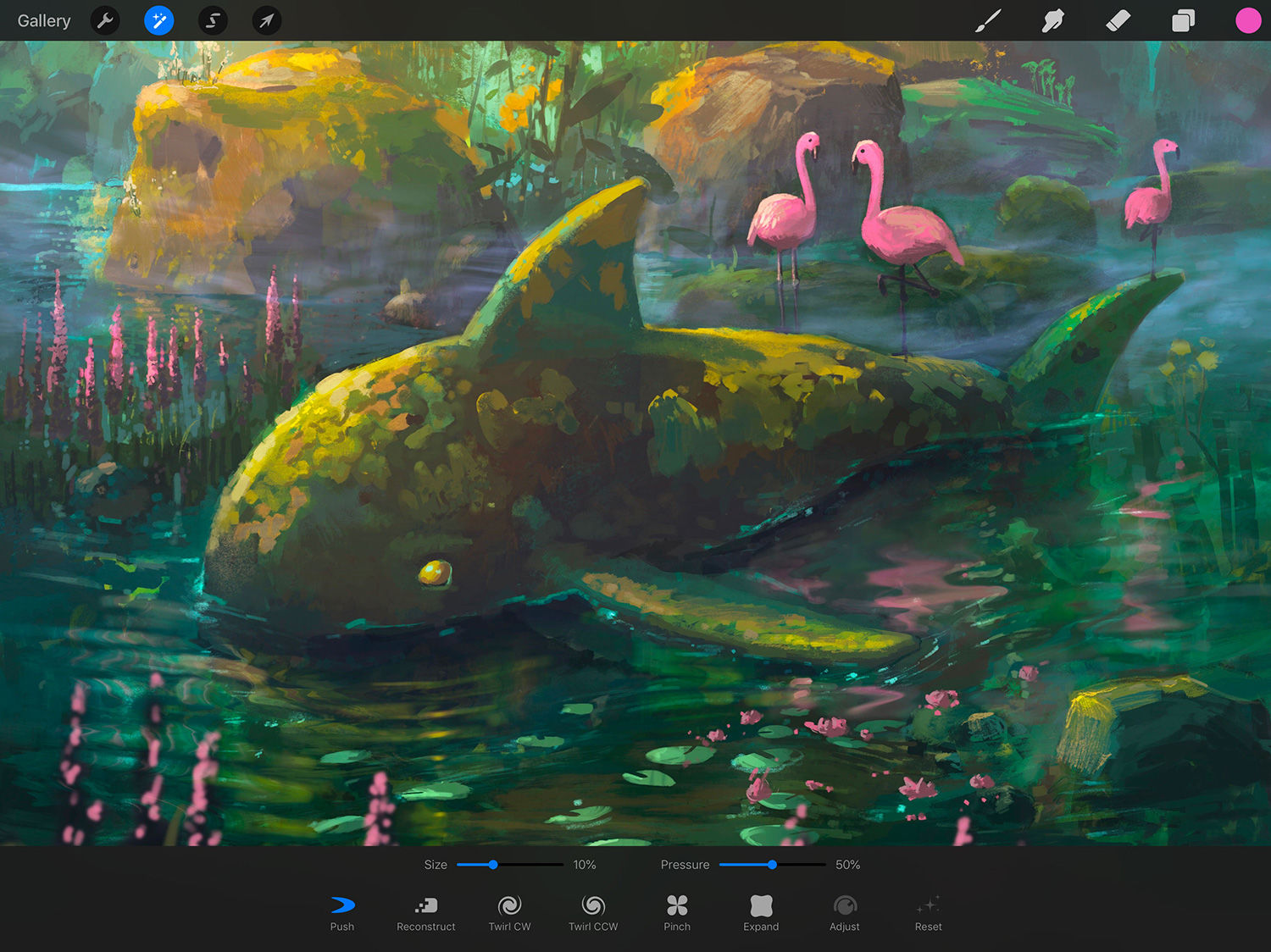 Procreate 4 1 is here, making the best iPad painting app