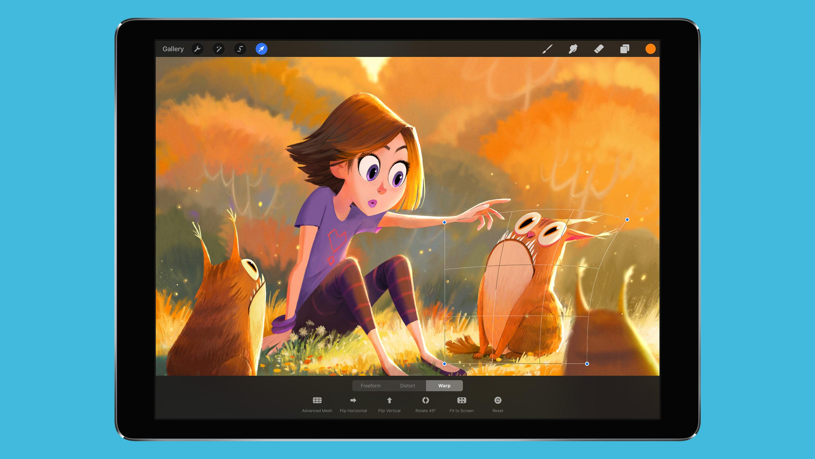 Procreate 4.1 is here, making the best iPad painting app even better - News  - Digital Arts