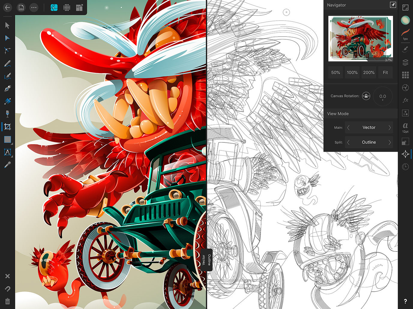 Affinity Designer is 'Adobe Illustrator for the iPad' - News