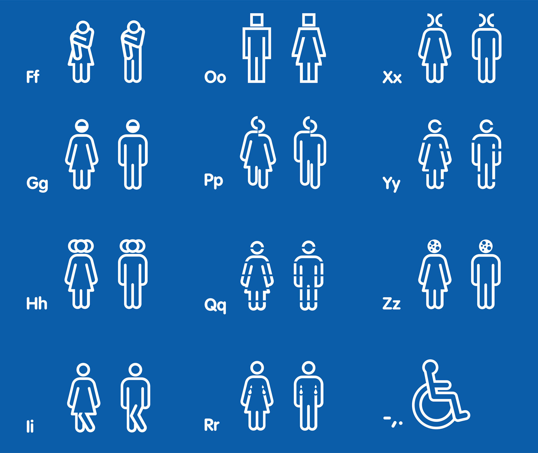 These Designers Have Reimagined The Wheelchair Symbol To Include