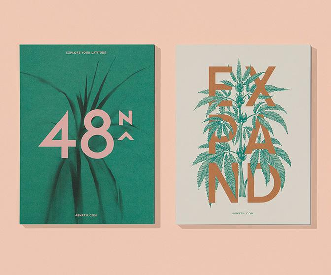 48North's slick female-led branding for cannabis infusions walks a fine line with no rule book