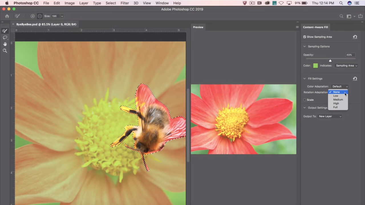 Adobe shows off new Content-Aware Fill tool coming to 'Photoshop CC