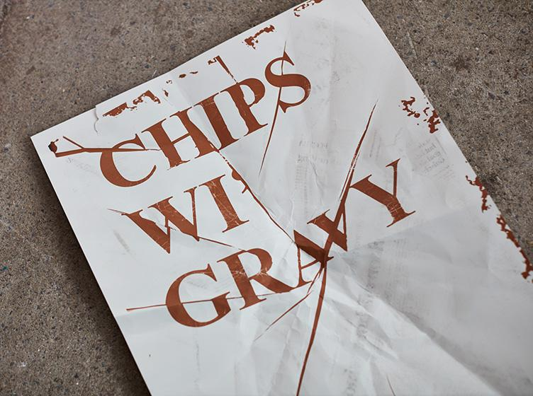 Chip sauce inks and the world's largest letterpress made for new book on northern identity