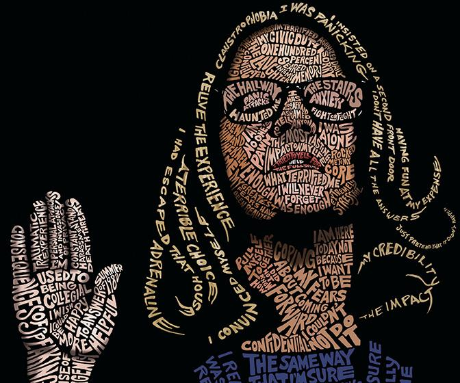 John Mavroudis on creating his TIME cover portrait of Christine Blasey Ford