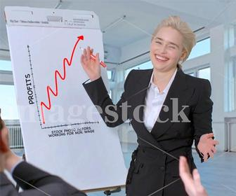 Game of Thrones' Emilia Clarke spoofs all your favourite stock photo clichés