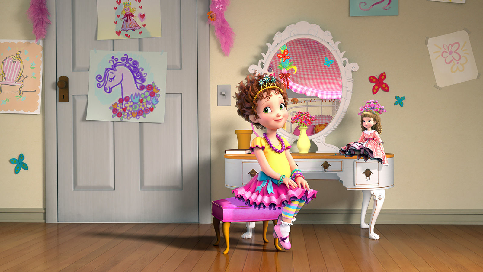Behind The Scenes Of Disney S Fancy Nancy Clancy Features Digital Arts