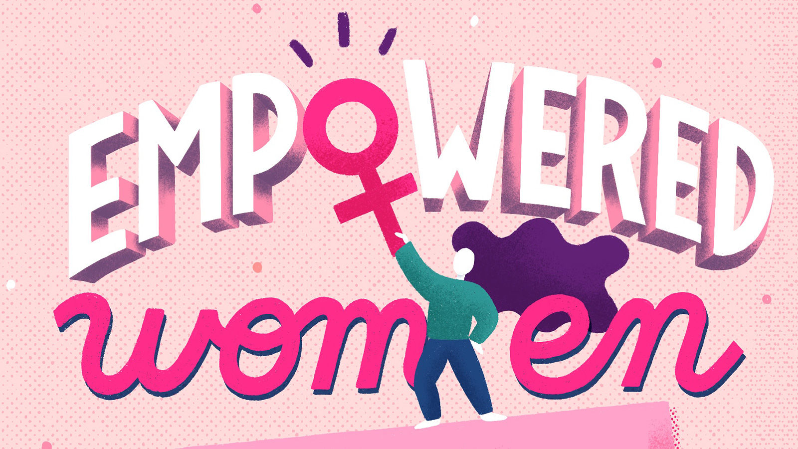 Feminism meets type as female lettering artists from around