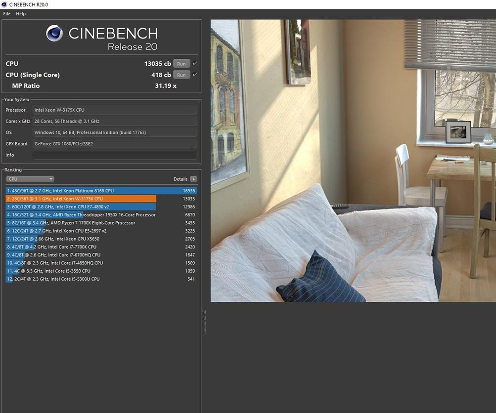 Meet the new, tougher Cinebench R20 benchmark: We test it on Xeon and Threadripper