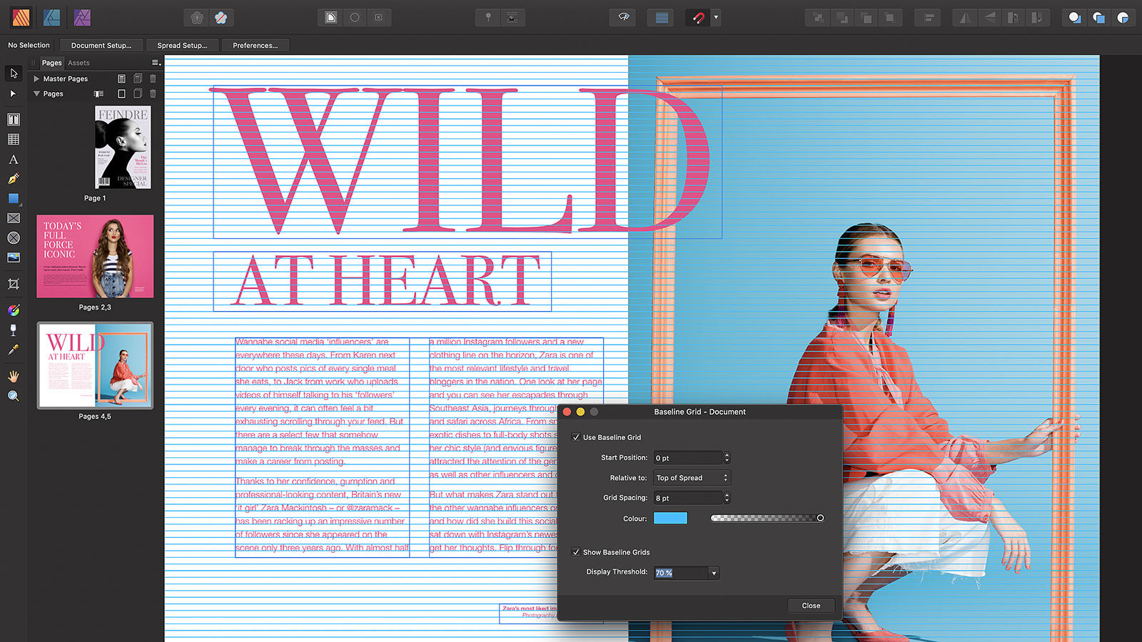 Serif just launched its InDesign killer Affinity Publisher