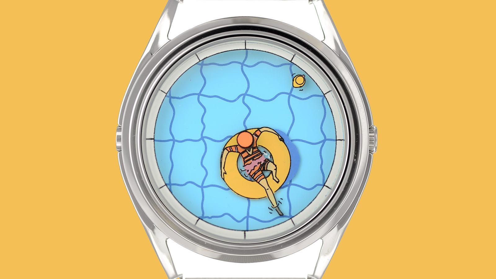 Kristof Devos on how he designed this summer's must-have watch