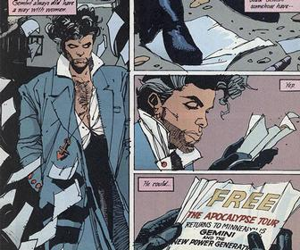 Prince and his lost comic book past get animated for a posthumous promo