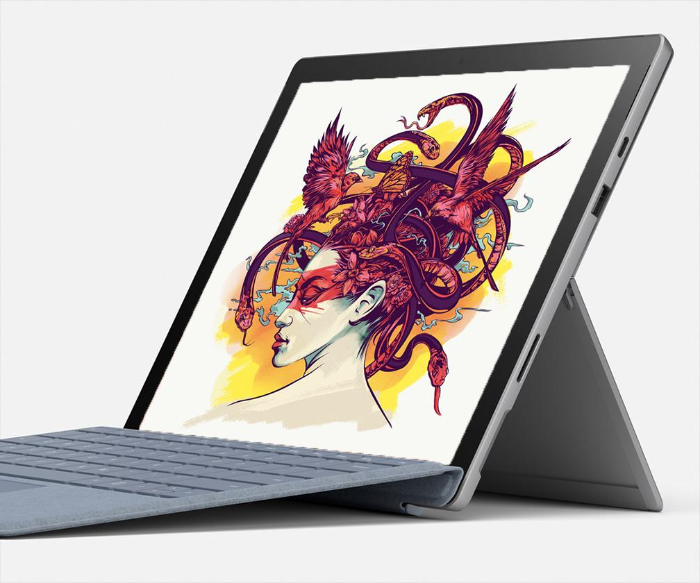 Microsoft's Surface Pro 7 adds faster chips, USB-C – and Adobe Fresco