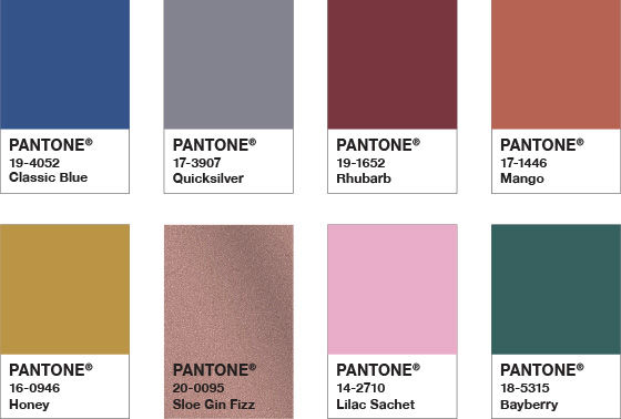 pantone color of the year 2020 palette exotic tastes