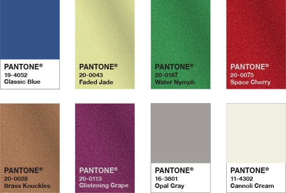pantone color of the year 2020 palette untraditional