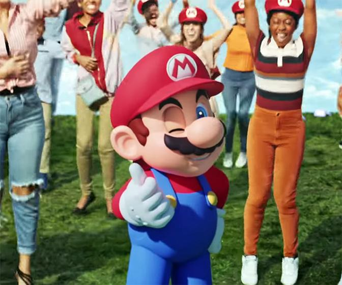 Watch a Nintendo game come to life in this advert/music video hybrid