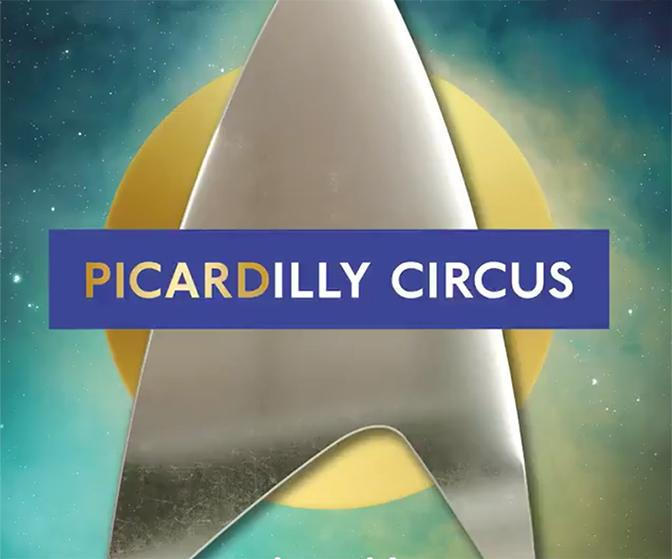 Make it Soho: Piccadilly Circus rebrands as PICARDilly Space Station