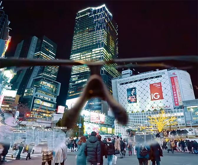 Watch Tokyo turn to AR hell in new Squarepusher promo