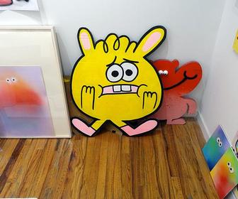 Jon Burgerman has a great body (of work!)