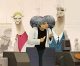 Wholesome animations remind commuters not to be animals
