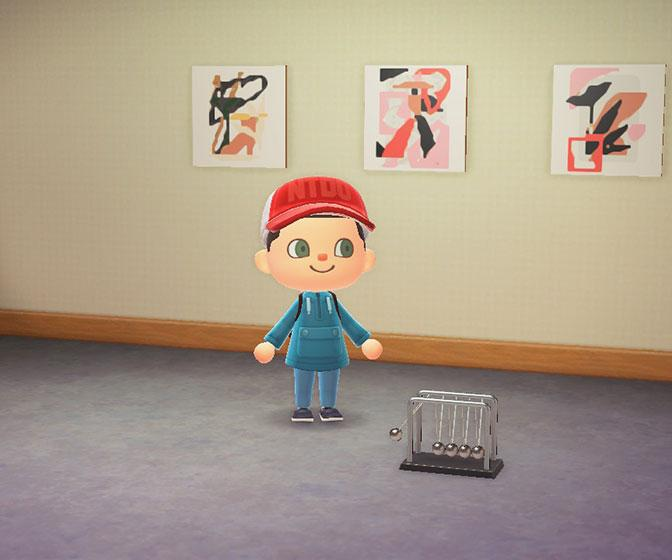 Make your own art gallery in Animal Crossing with cool customisation tool