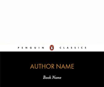 Generate your own Penguin Classics book cover for a laugh