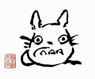 Learn how to draw Totoro with a Studio Ghibli legend