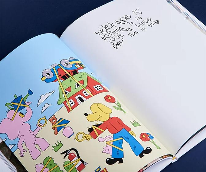 Proud father gets top illustrators to draw kids book 'about nothing'