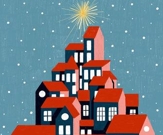 How Christmas cards helped Iris van den Akker's illustration craft