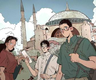 """Drawing a comic is like directing a movie"": Cartoonist Chendi Xu on her European yarns"