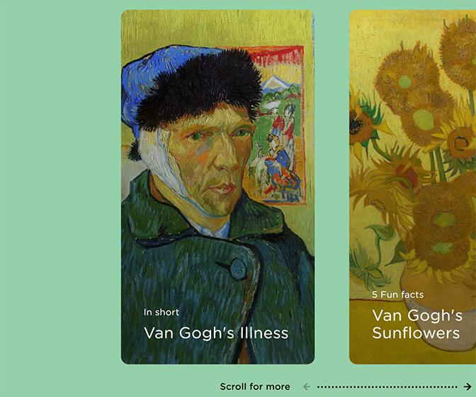 Vincent Van Gogh gets one slick rebrand