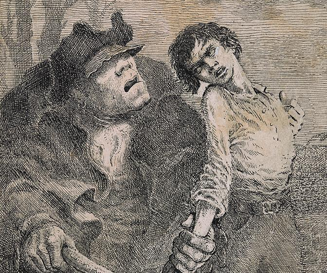 Marvel at Mervyn Peake's art from childhood to Gormenghast
