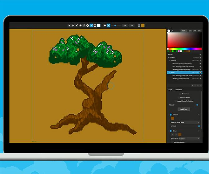 Pixelmash promises easier pixel art and sprite animation