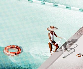 Sophie Minto's shimmering illustrations are perfect for summer