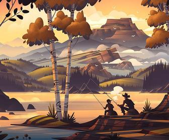 Landscape Illustration tips from leading illustrators