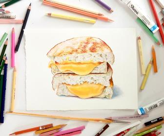 20 food illustration tips