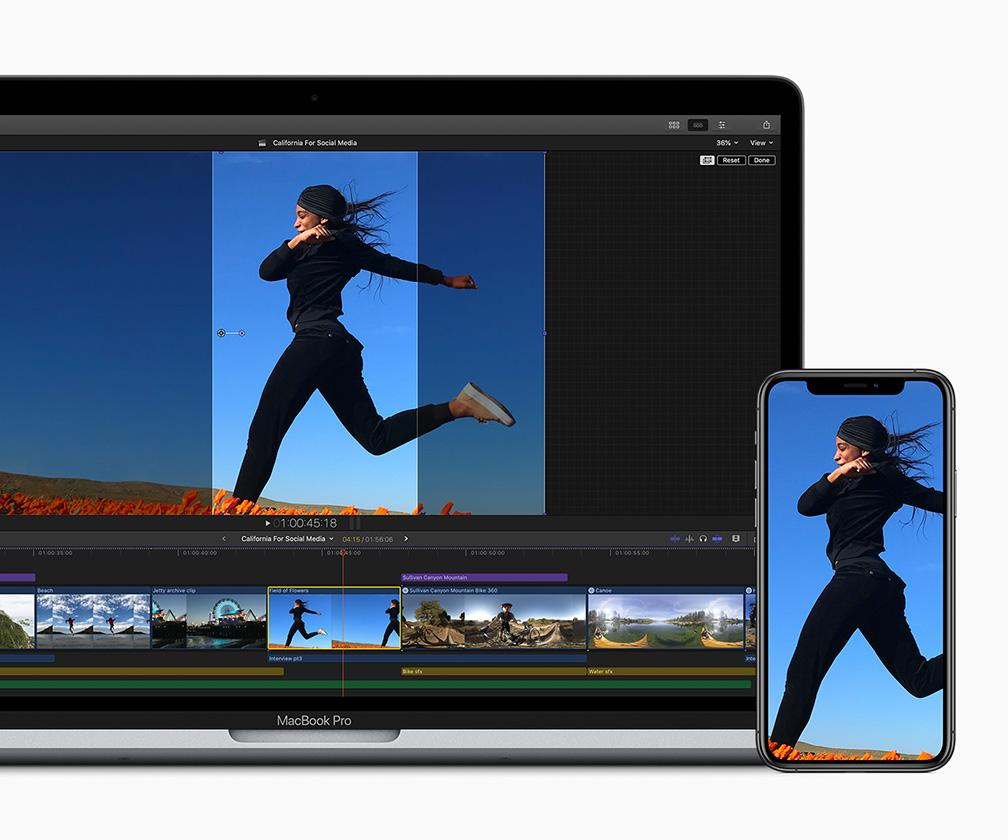 Apple updates Final Cut Pro X with social media tools, more
