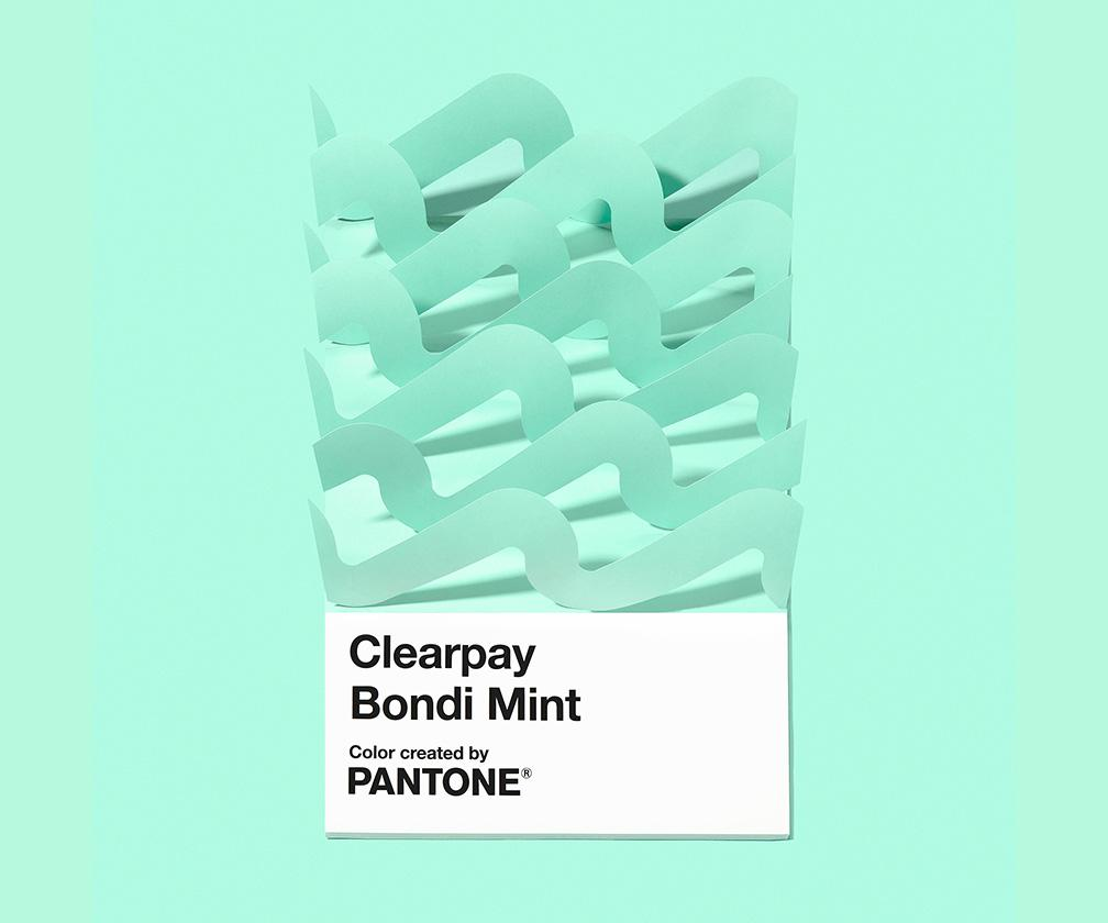 Why Clearpay created its own Pantone colour