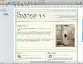 Softpress Freeway 5.5 review