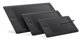 Wacom Intuos5 graphics tablets with multi-touch input review