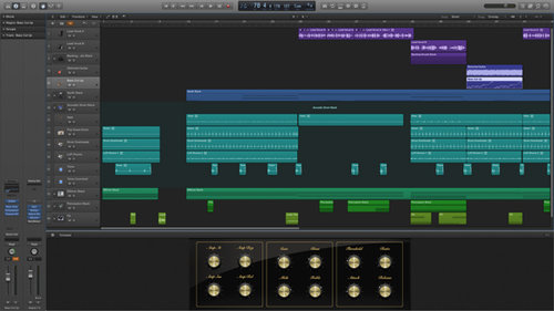 Logic Pro X interface