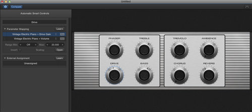 Logic Pro X Smart Controls