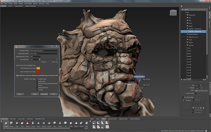 Autodesk Mudbox 2014 Review Review Digital Arts