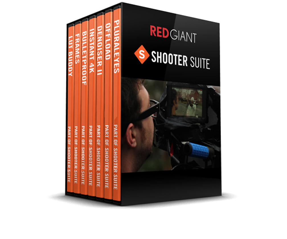 Red Giant Shooter Suite 13