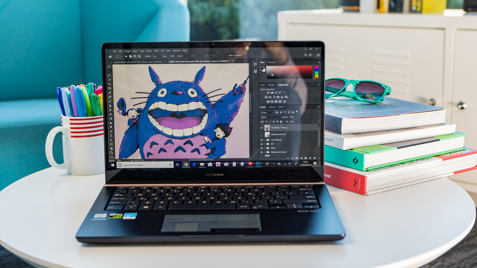 Asus ZenBook Pro 14 review: the designer-focussed laptop with a