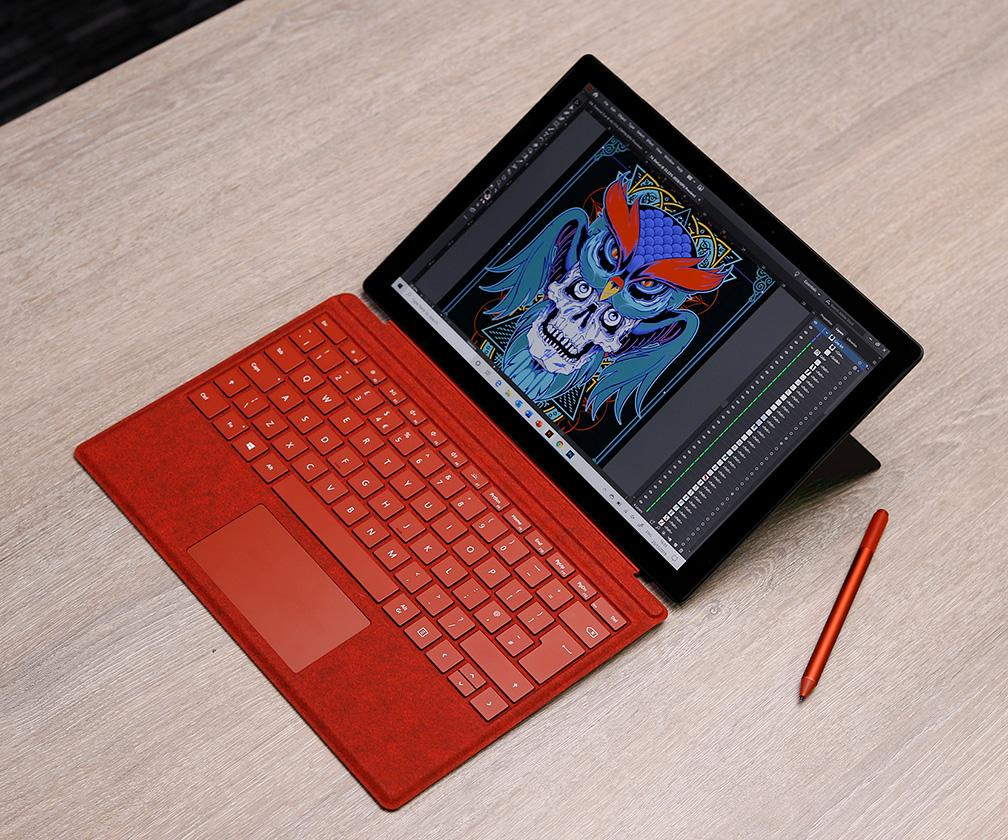 Microsoft Surface Pro 7 review: the perfect tablet for Illustrators