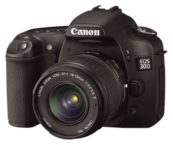border=0 /><BR></div> </p> <p> In line with recent models such as the 12.8mp full-frame EOS 5D and the 8.2mp EOS 1D Mk II N, the new 30D has seen a number of refinements aimed at standardizing operation across models. Perhaps the most significant change in terms of ease of use is the loss of the 20D's JPG image Processing Parameters and Colour Matrix settings. These have been dropped in favour of the user-friendly Picture Styles introduced with the 5D and 8.2mp 1D Mk II N.  </p> <p> The Picture Styles system offers a set of six subject-based presets, and provides novices and professionals alike with a simpler interpretation of the combined effect of sharpness, saturation, colour tone, and contrast for a predictable colour response. Although the top-of-the-range 16.7mp 1Ds MK II has yet to feature the upgrade, Canon claims that each Picture Style gives the same colour response across each of the three latest models. </p> <p> Although there are benefits for all users, colour accuracy is crucial for professionals, so this attempt to provide conformity of in-camera processing from model to model is welcome. </p> <p> <div class=floatedimage><img src=